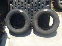 2 quantity pacemark snowtrakker st/2 tires 185/70r14 studded snow tires dot pdrv in Fort Carson, Colorado