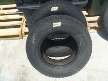 2 quantity  sport king a/t steel radial tires 225/75r16 all terrain tire in Fort Carson, Colorado