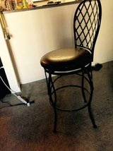 bar stool with a back in Beale AFB, California