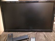 "24"" pro scan tv monitor with remote and wall mount in Joliet, Illinois"