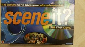 Scene it DVD Premiere movie trivia game in Vista, California