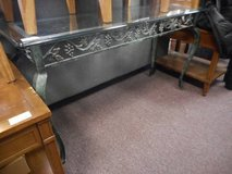 Lovely Sofa Table in Glass in Elgin, Illinois