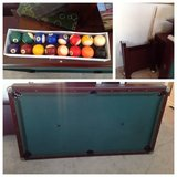 """Tournament Choice 80"""" Billiard Table and accessories. in Chicago, Illinois"""