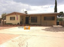 Beautiful Spacious Home with an Amazing Backyard! in Fort Bliss, Texas