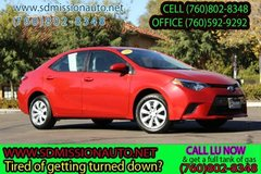 2016 Toyota Corolla LE Ask for Louis (760) 802-8348 in Camp Pendleton, California