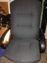 Adjustable High-Back Executive office Chair, grey Fabric in Roseville, California