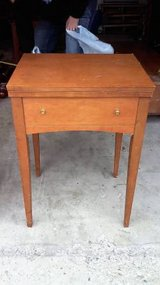 WOOD SEWING TABLE in Aurora, Illinois