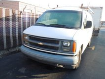 **GREAT WORK VAN**2002 CHEVY EXPRESS VAN** in Lockport, Illinois