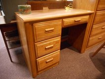 Sturdy Oak Desk in Elgin, Illinois