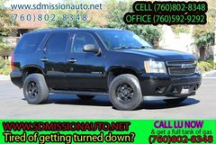 2007 Chevrolet Tahoe LS Ask for Louis (760) 802-8348 in Camp Pendleton, California