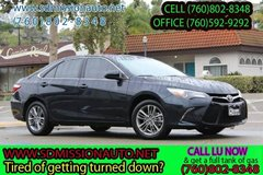 2016 Toyota Camry SE Ask for Louis (760) 802-8348 in Oceanside, California