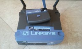 Linksys Router with USB Adapter in Oceanside, California