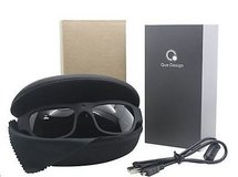 Que Video Camera Glasses (1080P, 15MP, Full HD, 8GB Micro SD, & Case) - NEW! in Chicago, Illinois