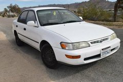 Toyota Corolla DX in Yucca Valley, California