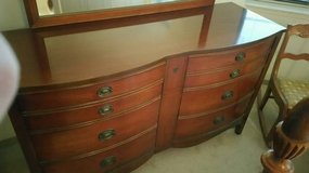 DIXIE Bow Front Double Dresser in Aurora, Illinois