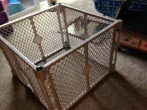 Exercise 4-Panel Puppy Dog Pet Yard Playpen Cage w/Door in Beale AFB, California
