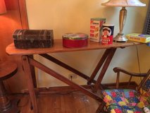 Vintage Wooden Ironing Board in Chicago, Illinois