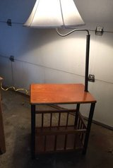 Reading table with lamp in Glendale Heights, Illinois