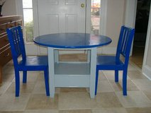 Solid Children Table with 2 Chairs in Warner Robins, Georgia