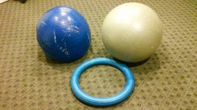 EXERCISE BALLS AND RING in Aurora, Illinois