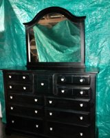 """Large Black Bedroom Set $375  """"The Back Forty"""", Adel in Moody AFB, Georgia"""