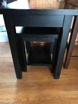 Nesting end tables in Fairfax, Virginia