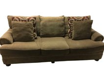 Corduroy sofa / couch in great condition in Joliet, Illinois