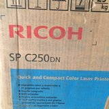RICOH SP C250DN - brand new in Joliet, Illinois