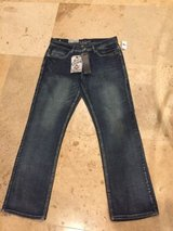 mens axe & crown slim boot fit jeans 32x30 stonewash free shipping in Joliet, Illinois