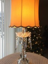 Reduced .. Elegant Crystal Lamp in Naperville, Illinois