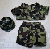Build-A-Bear Camo Army Outfit in Algonquin, Illinois