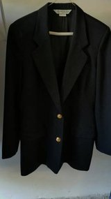 Austin Reed Woman's Black Suit - Size 8 in Elgin, Illinois