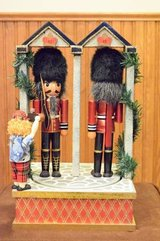 "Nutcracker Bombay Company 15"" Musical Two Windsor Guards in Elgin, Illinois"