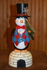 "Nutcracker Pier 1 Imports 13"" Penguin on Igloo in Elgin, Illinois"