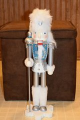 "Nutcracker Pier 1 Imports 18"" Silver Soldier in Elgin, Illinois"