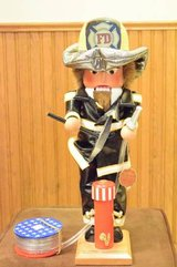 """Nutcracker Steinbach 18"""" Fireman with Accessories, Limited Edition in Algonquin, Illinois"""
