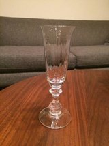Mikasa Crystal Champagne Flutes - French Countryside - Set of 8 in Aurora, Illinois