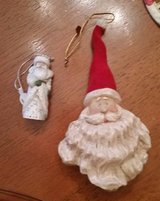 Santa Ornaments in Wheaton, Illinois