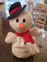 Snowman Beanie Baby in Orland Park, Illinois