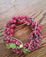Wreath - Small Red Berries in Chicago, Illinois
