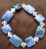 "Moonstone Bracelet 7.5"" in Kaneohe Bay, Hawaii"