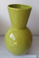 Crate and Barrel Vase - Green in Orland Park, Illinois