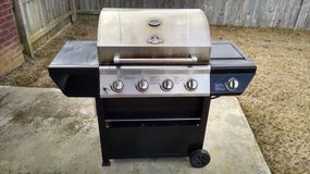 Four Burner Gas (Propane) Grill - used in Perry, Georgia