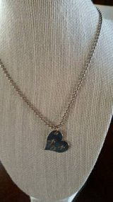 "Heart on a 24"" chain necklace in Camp Pendleton, California"