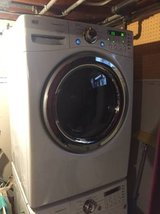 LG top loading steam dryer in Glendale Heights, Illinois