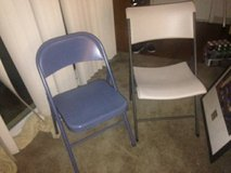 2 folding chairs in Roseville, California