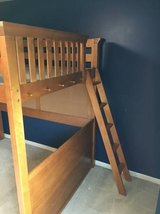 Full Size - Loft Bed with New Mattress -Lea Industries in Naperville, Illinois