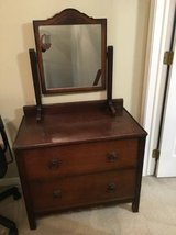 Vintage Mirrored Short Dresser in Naperville, Illinois