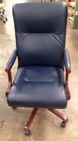 Leather Highback Executive Conference Chairs by Paoli in Cary, North Carolina