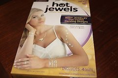 hot jewels classic metallic temporary tatoos body jewelry in Houston, Texas